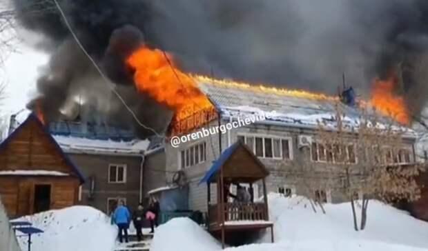 ВМЧС рассказали овозможной причине пожара в«Экстрим-парке» под Оренбургом