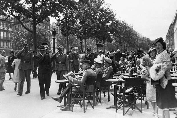 Как жила Европа оккупированная Гитлером