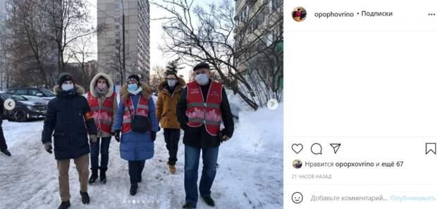 Общественники проверили Ховрино на безопасность