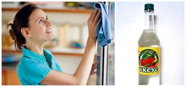 Мыть окна уксусом