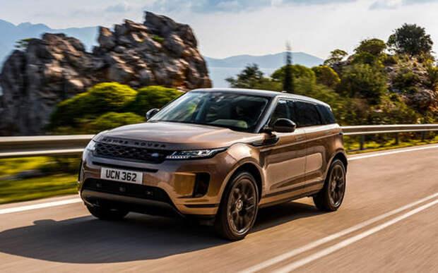 Новый Range Rover Evoque: первый тест серийного кроссовера