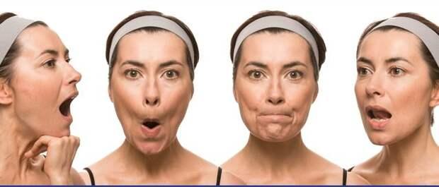 как быстро убрать щеки - упражнения