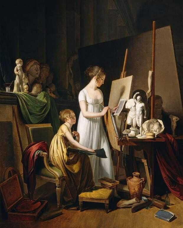 Художник Louis-Leopold Boilly (1761 – 1845). Невероятный и изумительная