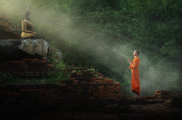 Фото №1 - Секреты здоровья и долголетия тибетских монахов