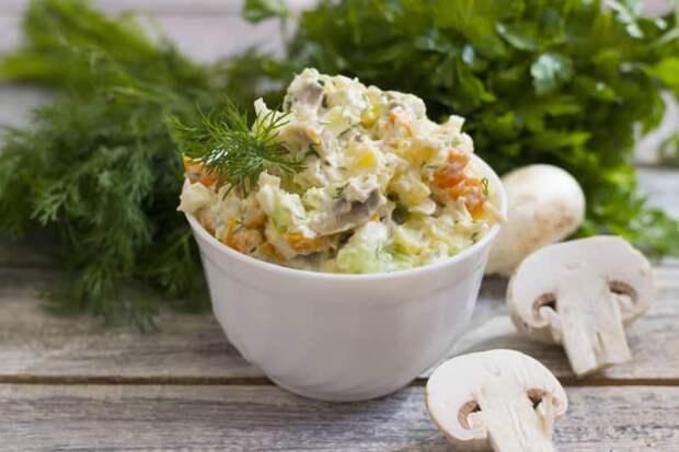 Витаминный салат: замечательный источник витаминов!