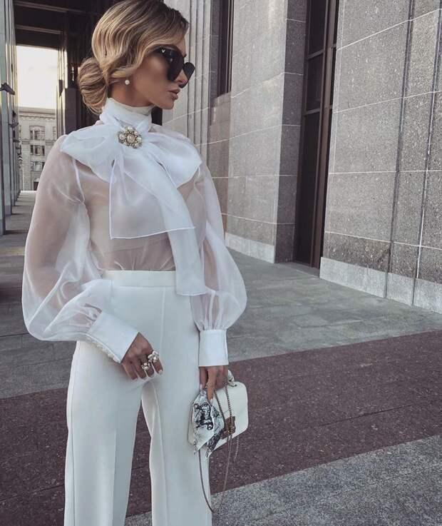 Актуальные модели женских блузок