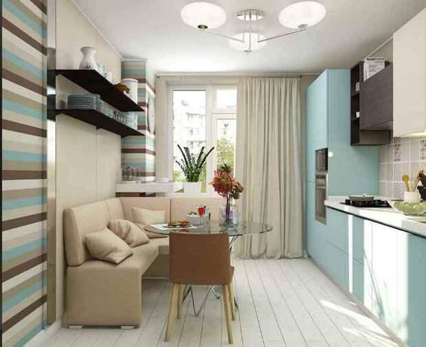 Кухня 10 кв. м: планировка, дизайн, фото (90 фото)