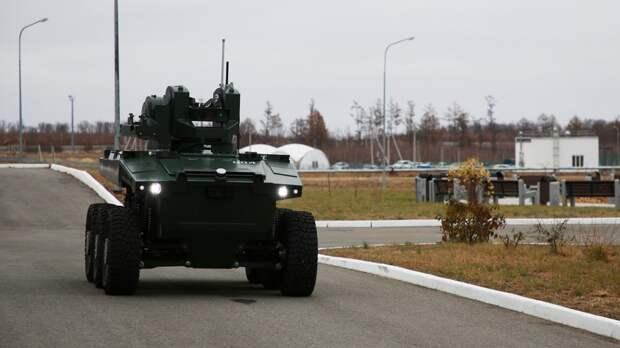 Автономный охранник: на что способен российский робот «Маркер»