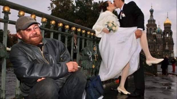Прикольные снимки со свадьбы. Вы будете рыдать от смеха!