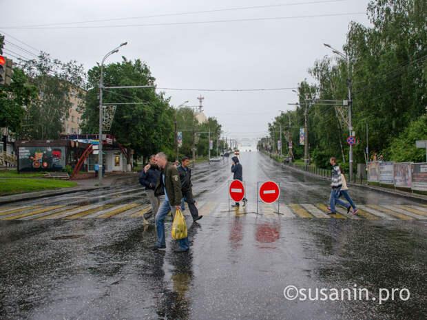 Движение в центре Ижевска ограничат в воскресенье