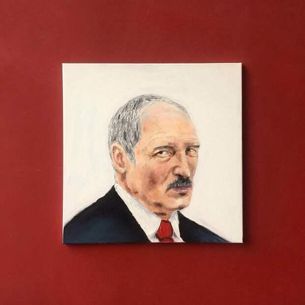 Студентка из Белоруссии зарабатывает на жизнь рисуя картины