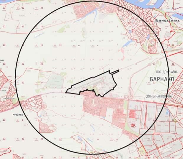 """Семь """"кругов"""" аэропорта. Что такое приаэродромная территория и как она влияет на Барнаул"""