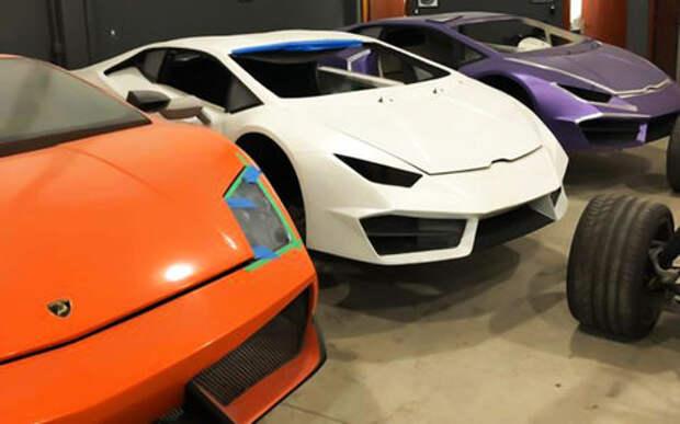 Анекдот недели: пойманы производители фальшивых Ferrari и Lamborghini