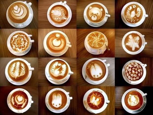 Как создать рисунке на кофе