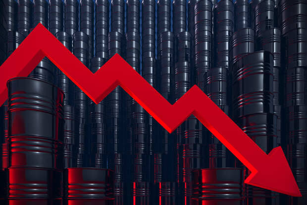 Экспорт нефти из РФ упал в два раза по сравнению с годом ранее