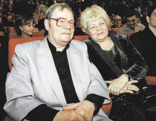 Михаил Пуговкин с третьей женой
