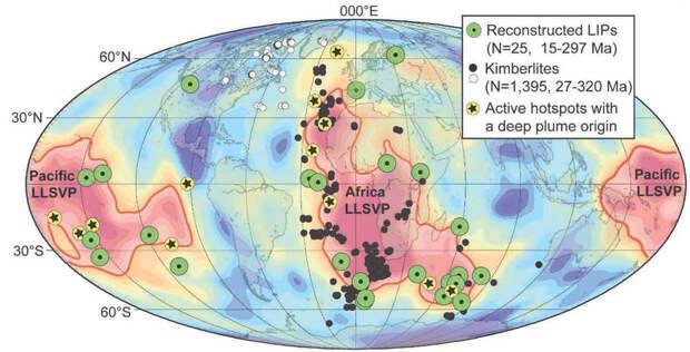 В мантии Земли существуют загадочные структуры, которые поставили геофизиков в тупик