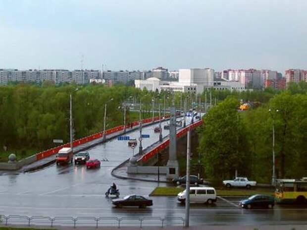 мост через Днепр сегодня []