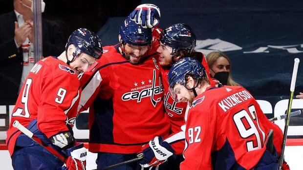 Дубль Овечкина и голы Кузнецова с Орловым в видеообзоре матча НХЛ «Филадельфия» — «Вашингтон» — 3:6