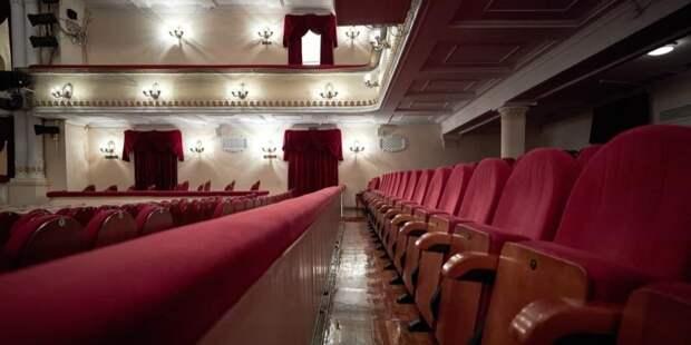 Собянин: За 10 лет в Москве отремонтировано 70 зданий учреждений культуры. Фото: М. Денисов mos.ru