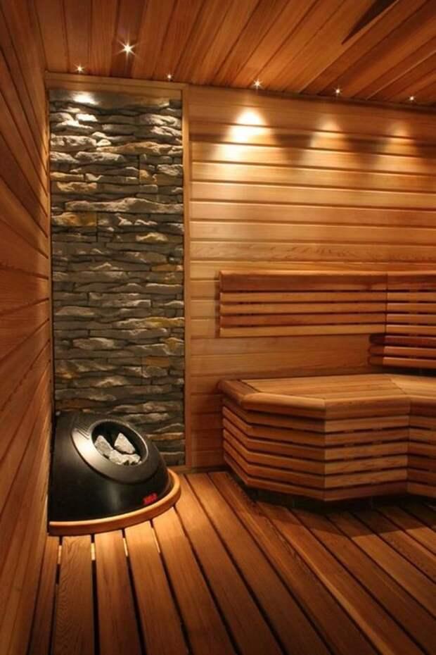 Интересные идеи для Вашей бани