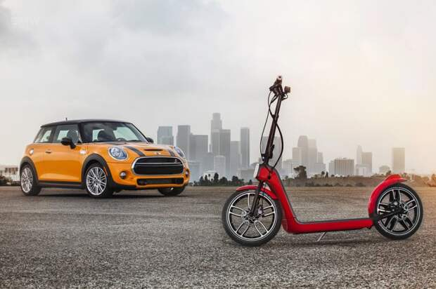 MINI CitySurfer – новая концепция передвижения по городу