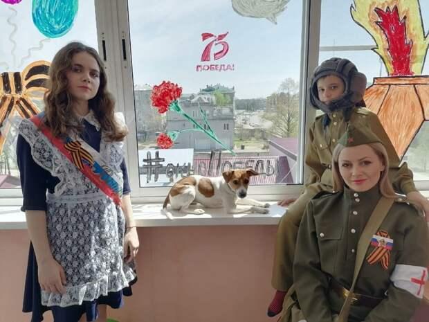 Жители Глазова смогут присоединиться к акции «Окна Победы»
