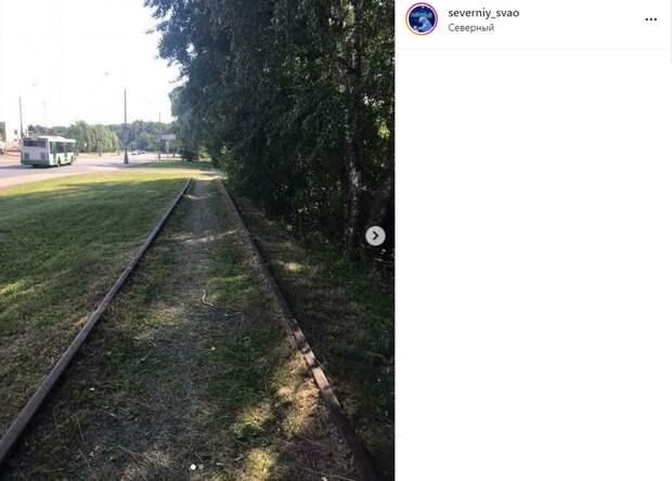 В Северном железную дорогу привели в порядок
