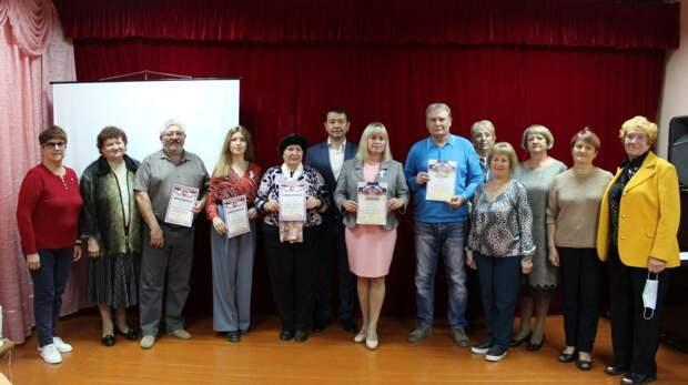 В Советской районной  библиотеке состоялось  подведение  итогов   творческого конкурса  «Любовью к Родине дыша»