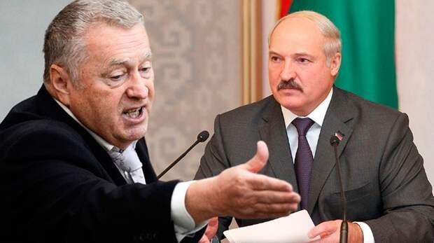 """Жириновский жестко раскритиковал Лукашенко за """"многовекторность"""" и """"независимость"""""""