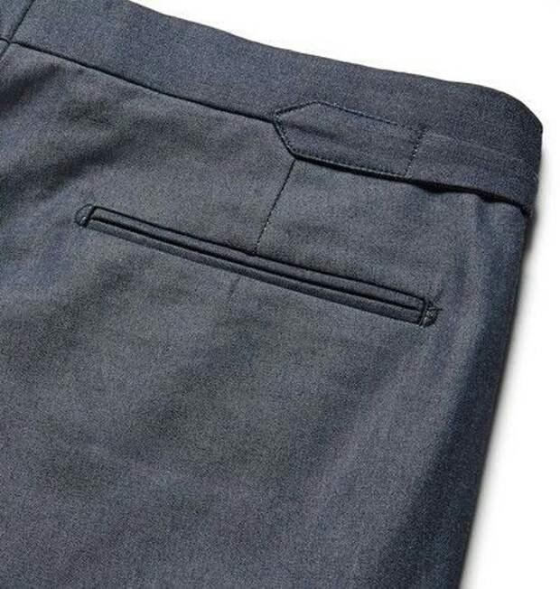 Необычные офисные брюки (детали)