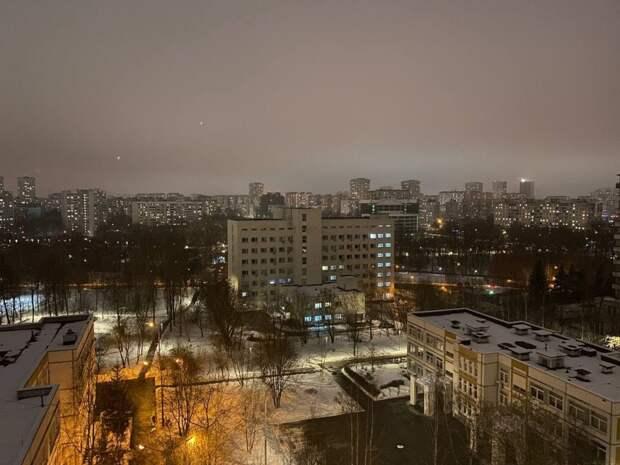 Фото дня: вечерний туман на Ленской