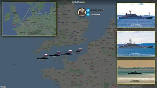 Корабли Балтфлота идут в Черное море на фоне учений НАТО в регионе