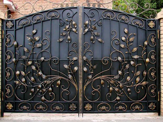 Ворота как произведения искусства