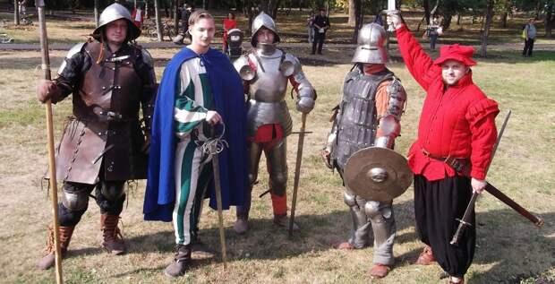 Рыцари в Бабушкинском сошлись стенка на стенку
