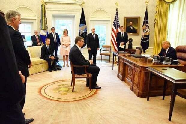 За пост Захаровой про президента Сербии извинились на высшем уровне