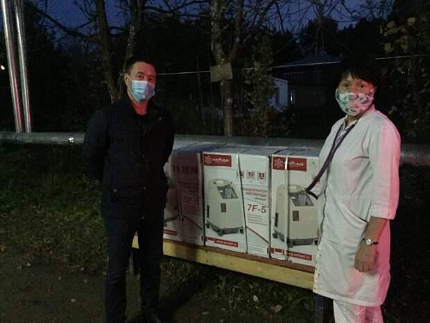 Жители Удмуртии собрали деньги на покупку кислородных концентраторов для Кезской больницы