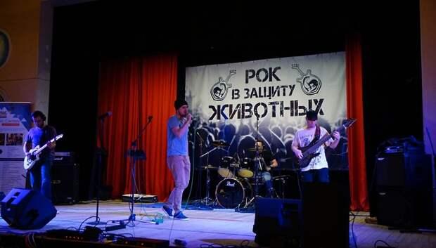 Фестиваль «Рок в защиту животных» будут ежегодно проводить в Подольске