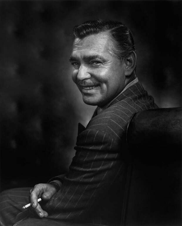Clark Gable by Yousuf Karsh