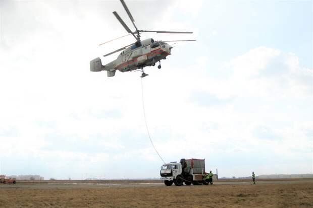 Пилоты и спасатели столицы тренируются тушить природные пожары