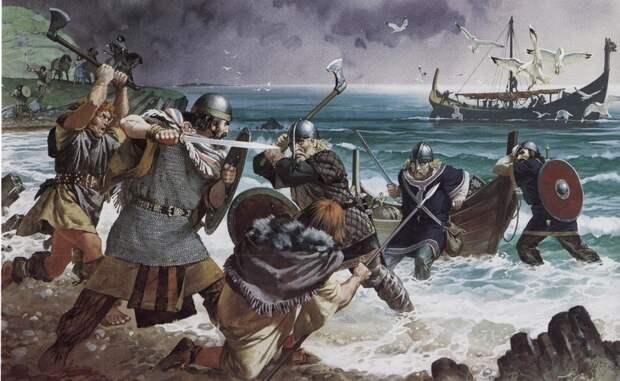Датские морские разбойники в Англии в 787–1048 гг.