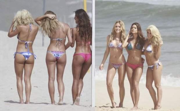 Девушки в бикини (45 фотографий)