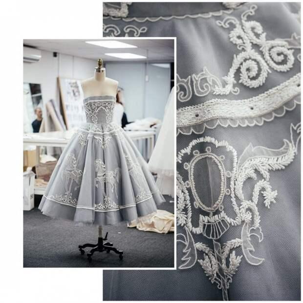 Платье-карусель: как это сделано