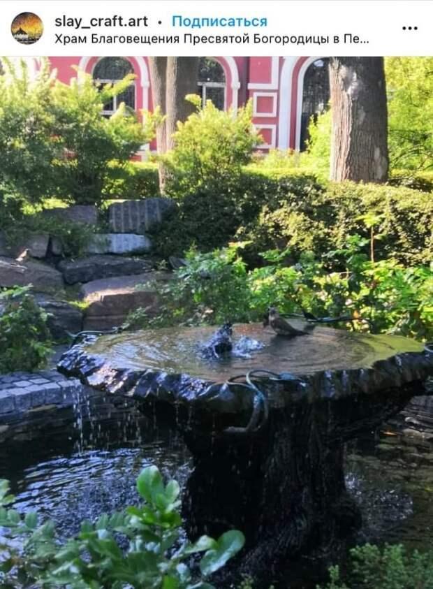 Фото дня: сад храма в Петровском парке