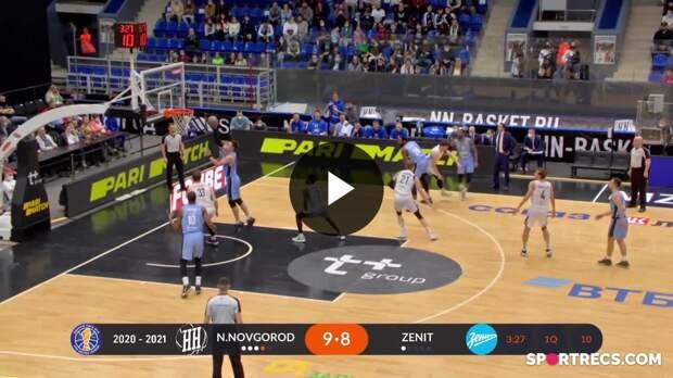 Nizhny Novgorod vs. Zenit Condensed Game April, 17 | Season 2020-21