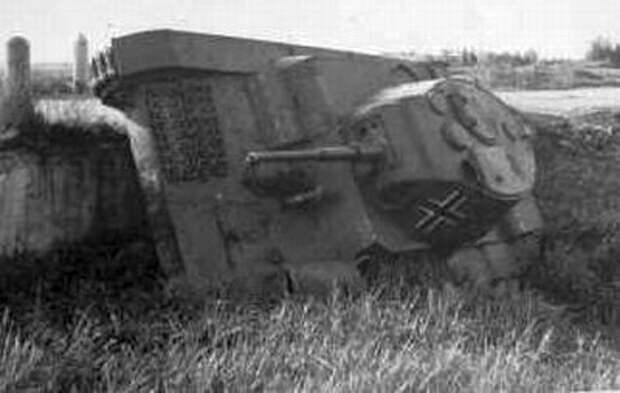 уничтоженный танк Т-26