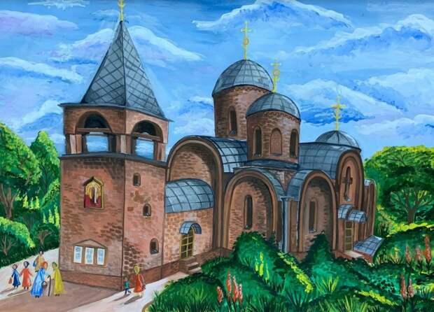 В Отрадном наградили победителей детского конкурса рисунков