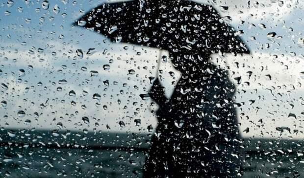 В выходные в Удмуртии ожидается дождливая погода