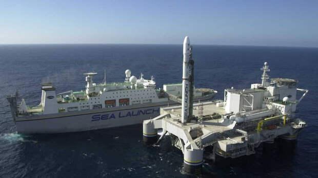Когда будет создан летательный аппарат для плавучего космодрома