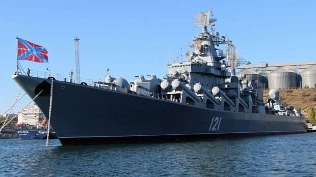 Дандыкин рассказал, как крейсер «Москва» способен перекрыть все Черное море